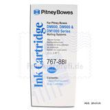Original Pitney Bowes Farbpatrone blau für DM800, DM900, DM1000 Serie Frankiermaschine