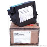 Original Frama Farbkassette blau für Matrix F2 Frankiermaschine