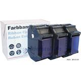 3er-Set original Francotyp-Postalia Farbband-Kassette blau für optimail 30 Frankiersystem