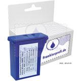 Frankierprofi Farbpatrone blau für Pitney Bowes DM50i, DM55i, DM60i, DM65i Serie
