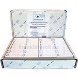 1.000 Frankierprofi Frankierstreifen 152 x 60 mm einzeln weiß für Francotyp-Postalia PostBase Frankiermaschine mit Streifengeber